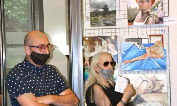 Mia intervista presso Galleria Internazionale Area Contesa via Margutta